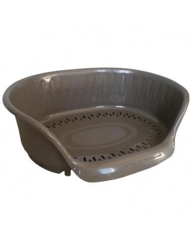 AIME Corbeille en plastique Apus Wenge 45x28x15cm  Pour chien