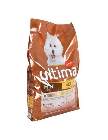 ULTIMA Croquettes Mini Adult au poulet, au riz et céréales  Petite race  Pour chien adulte 1 a 10kg  7,5kg (x1)